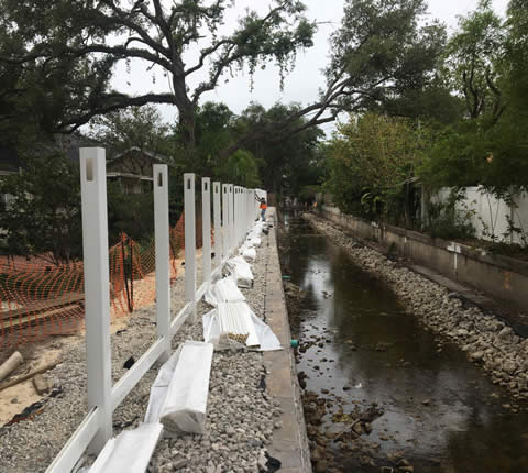 City of Tampa Watrous Canal Rehabilitation